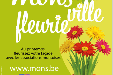 Lancement de l'édition 2021 de « Mons ville fleurie » (en mode covid-19)