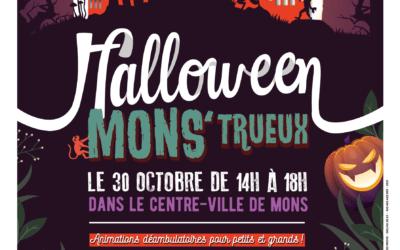 Venez fêter Halloween le samedi 30 octobre prochain en centre-ville montois  !